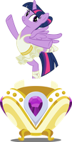Vector #704 - Twilight Sparkle Music Box by DashieSparkle