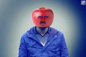 Apple Head by Chipson