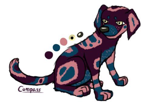 Blueberry (for sale) by MortalCompass