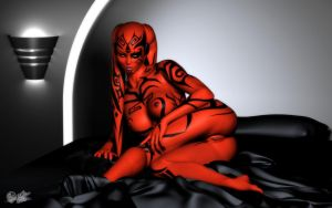 Nice Try - Darth Talon by darthhell