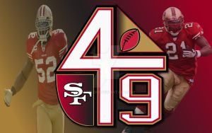 1st San Fran 49ers Wallpaper by SGTFlo46