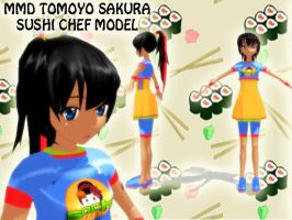 MMD Tomoyo Sakura Sushi Model Download by SachiShirakawa
