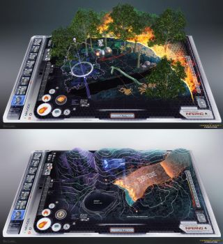 Hunger Games - Fire Interfaces by Rahll