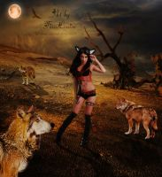 In company of wolves by TinaLouiseUk