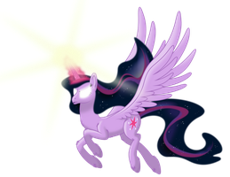 Twilight Sparkle the Dawnbringer by Stabzor