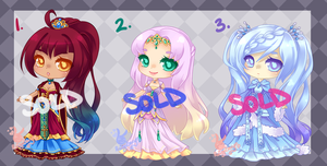Fantasy Adopts: SOLD OUT by RaineSeryn