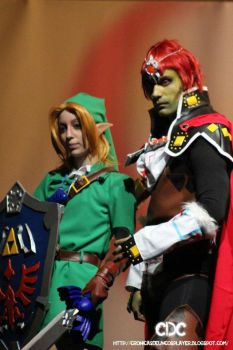 Link and Ganondorf by Mordier