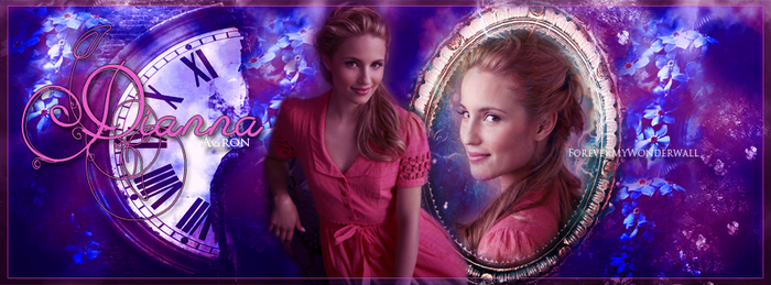 Dianna Agron. by ForeverMyWonderwall
