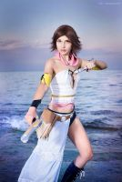 Yuna (Final Fantasy X-2) by HeatherTakarai
