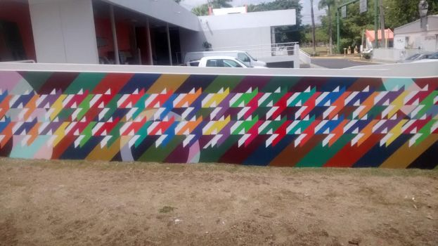 Class Mural by IveWasHere