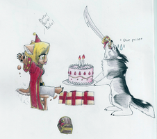 Sheba birthday by diaszoom