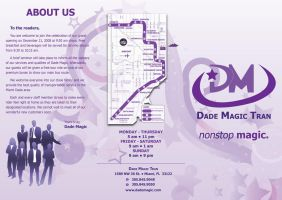 Dade Magic - Outside Brochure by el-chalupa