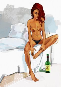Mary/Jameson by billfy