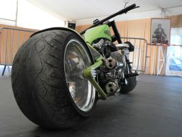 HD Custom bike by Dany-Art