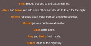 Night four also has death by LuckyKoneko