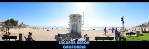 Laquana Beach Panorama by CaspersCreations