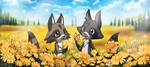 Flower Field by PenguinEXperience