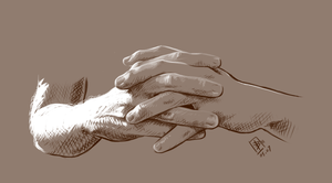 Hand Study 01 by Girl-on-the-Moon