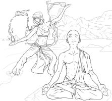 Kataang : Distraction WIP2 by Nylak