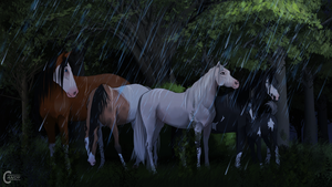 [MQ] diRPG | Rainy chit chat by FeatherCandy