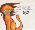 Fireheart will never by same.... by DarkArtemis666