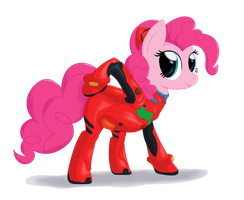 Pinkie's plugsuit by Stinkehund