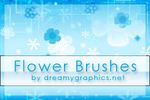 Flowerbrushes For Gimp by inge123