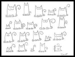 Here Have Some Cats by Almirah