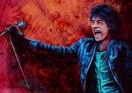 Mick Jagger by CAHess