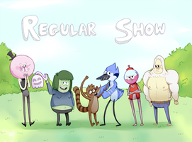 Regular Show by AceOfZeon