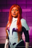 New 52 Starfire - Space Suit by Chanzlyn
