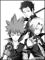 Hitman Reborn by HellyonWhite