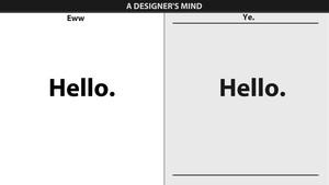 How A Designer's Brain Works by YellowDzn