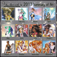 2013 Art Summary Meme by Toto-the-cat