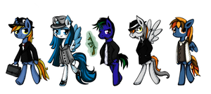 Gangsters by Reporter-Derpy