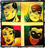 Justice League of America  the early years by DevintheCool