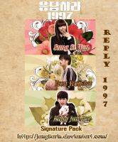 [Signature Pack] Reply 1997 by jangkarin
