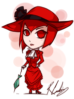 Chibi Madam Red by Feurae
