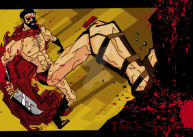 This is Sparta by TaraGraphic