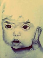 My baby cousin by myartisoriginal