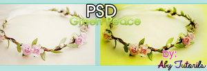 Green Peace PSD by ForeverYoung320