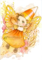 Candy Corn Fairy by aruarian-dancer