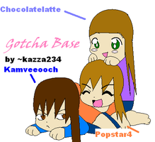 Me and meh two friends on DA by popstar4
