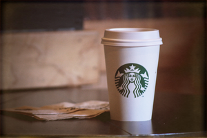 starbucks coffee by Caelinius