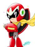 Protoman Chibi by ARS by ARSXART
