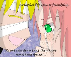 NaruSaku: Love or Friendship? by joy1003