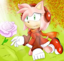 Last Rose of the Season by SonicForTheWin2
