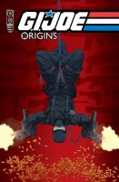 GI JOE ORIGINS 8 cover by gatchatom