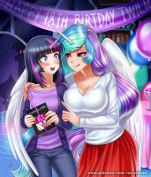 Birthday gift by RacoonKun