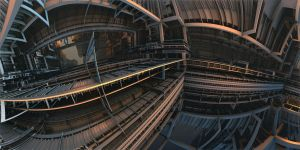 IndustrialConvolution by MarkJayBee